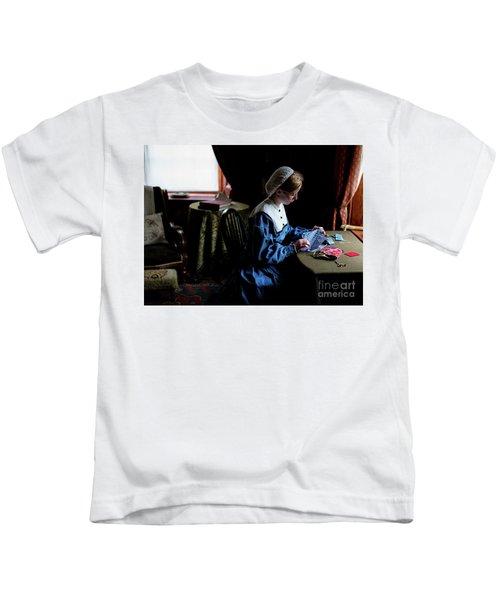 Girl Sewing Kids T-Shirt