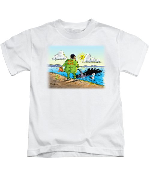 Giving Back To The Environment Kids T-Shirt