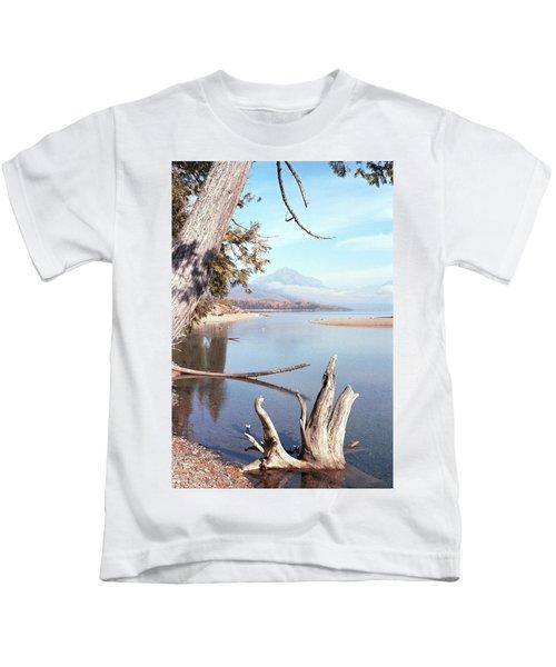 Glacier National Park 3 Kids T-Shirt