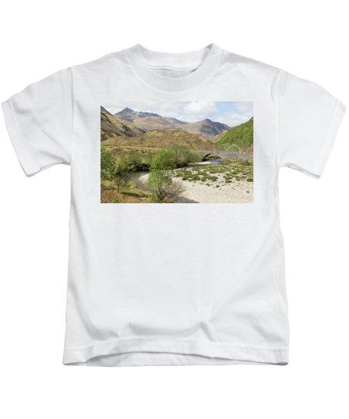 Glen Shiel - Scotland Kids T-Shirt