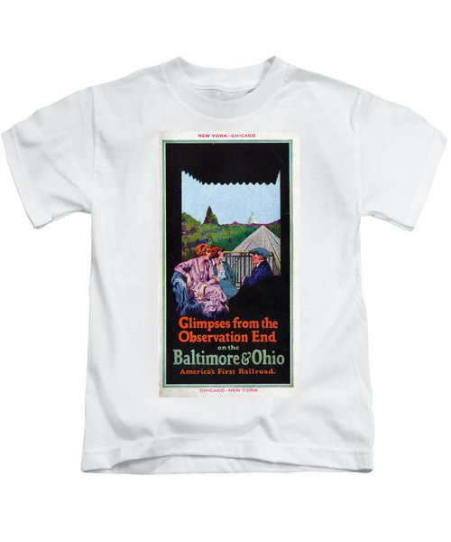 Glimpses From The Observation End Kids T-Shirt