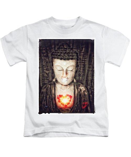 Glowing Heart Kids T-Shirt