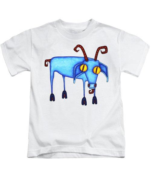 Goat Kids T-Shirt by Joan Krygsman