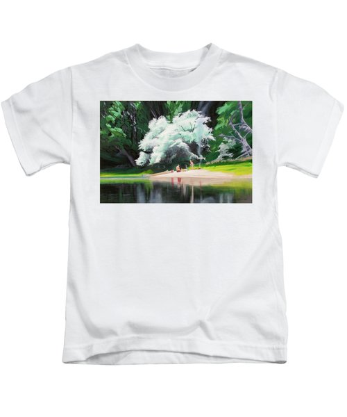 God Loves People Kids T-Shirt