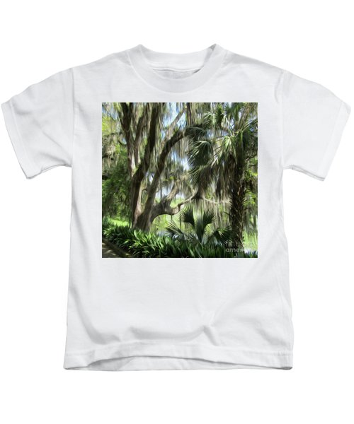 Going Back In Time Kids T-Shirt