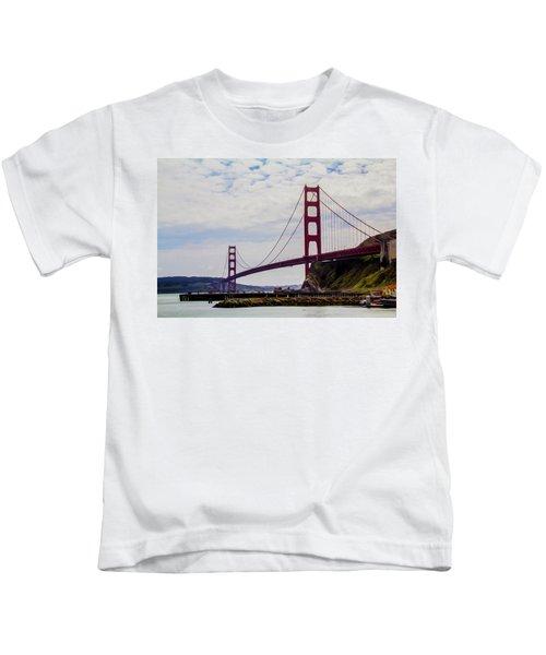 Golden Gate Bridge Kids T-Shirt