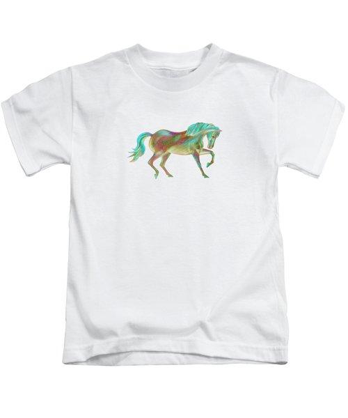 Golden Green Kids T-Shirt