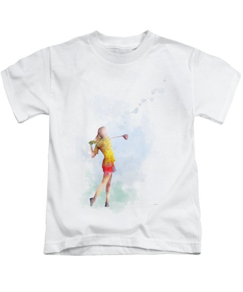 Golfer Kids T-Shirt