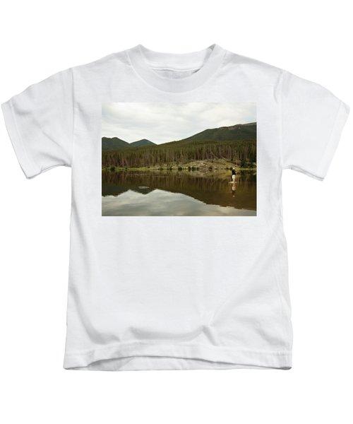 Gone Fishin Kids T-Shirt