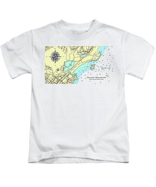 Good Harbor Beach Kids T-Shirt