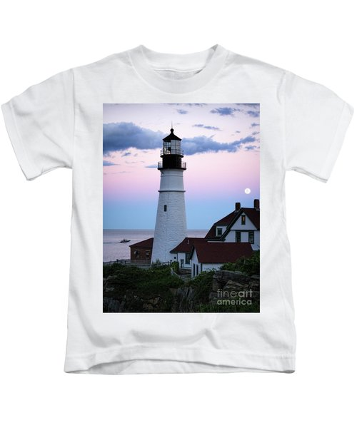 Goodnight Moon, Goodnight Lighthouse  -98588 Kids T-Shirt