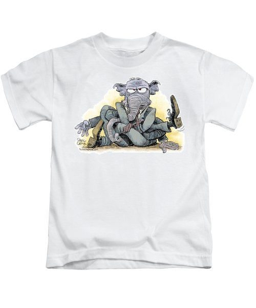 Gop Tied Up In A Knot Kids T-Shirt
