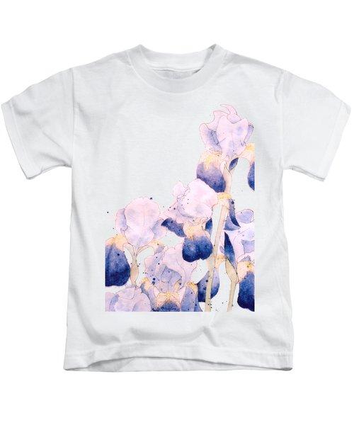 Graceful Iris Kids T-Shirt