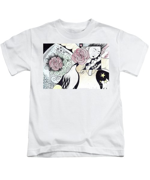Gracefully - In Color Kids T-Shirt