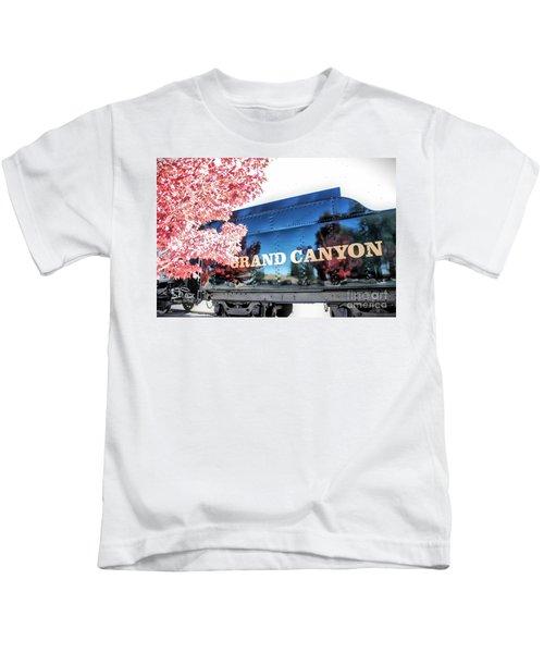 Grand Canyon Railroad Kids T-Shirt