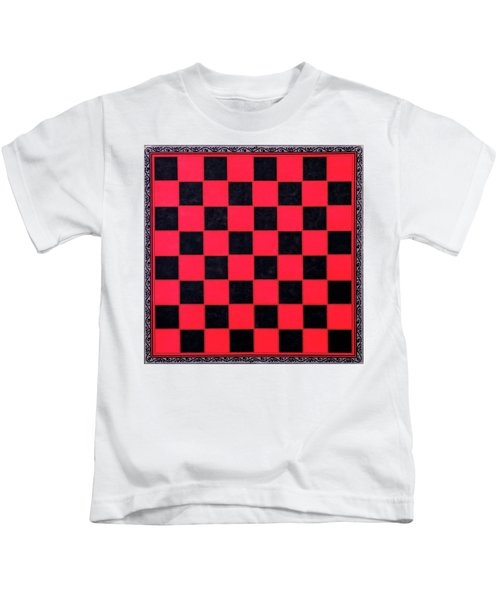 Grandpa's Checkerboard Kids T-Shirt