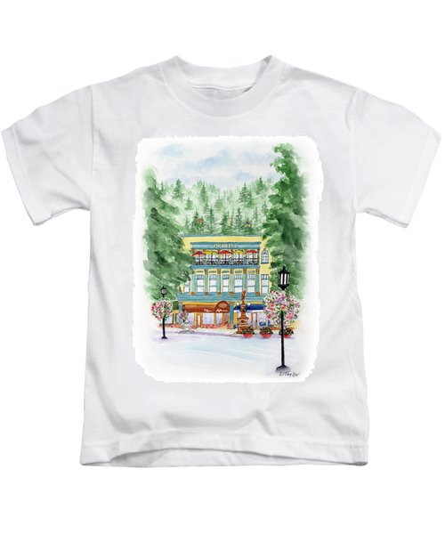 Granite On The Plaza Kids T-Shirt