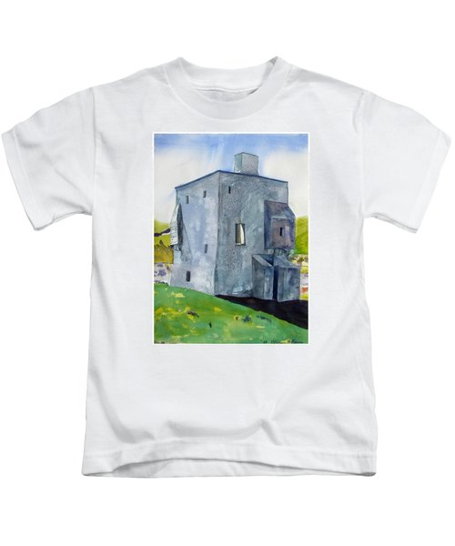 Granuaile's Castle Behind The Hill Kids T-Shirt