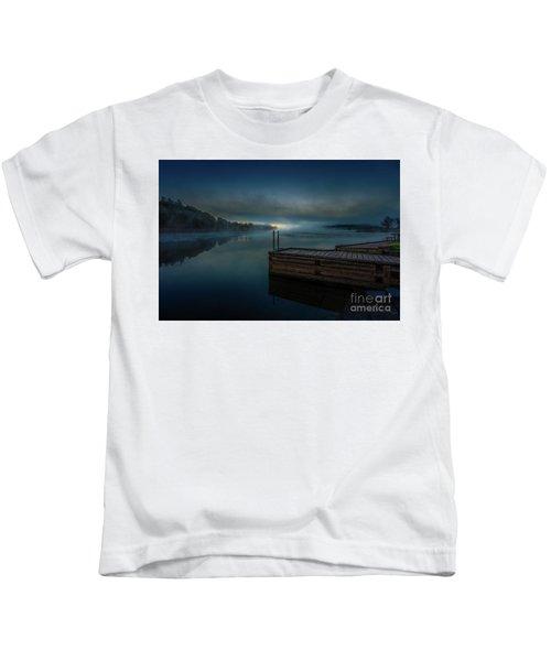 Grass Creek Sunrise 1 Kids T-Shirt