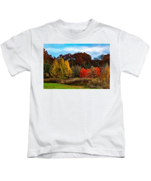 Great Brook Farm Autumn Kids T-Shirt