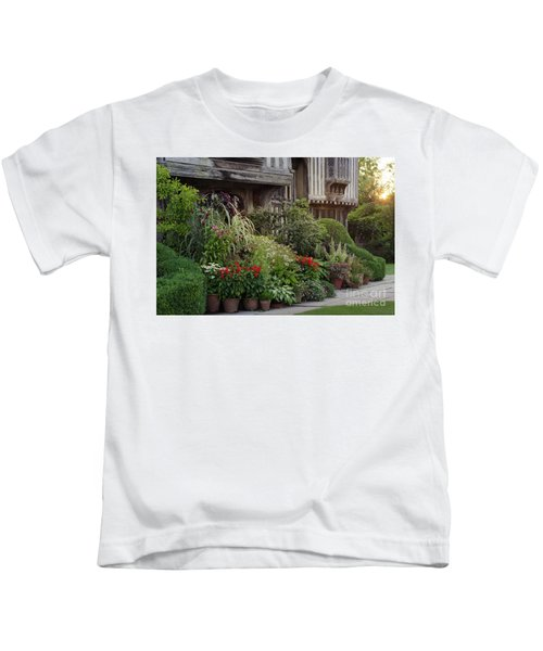 Great Dixter House And Gardens At Sunset 2 Kids T-Shirt
