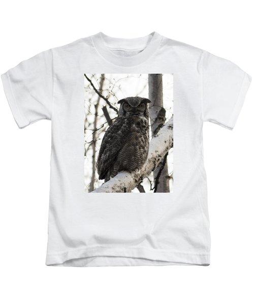 Great Horned Kids T-Shirt