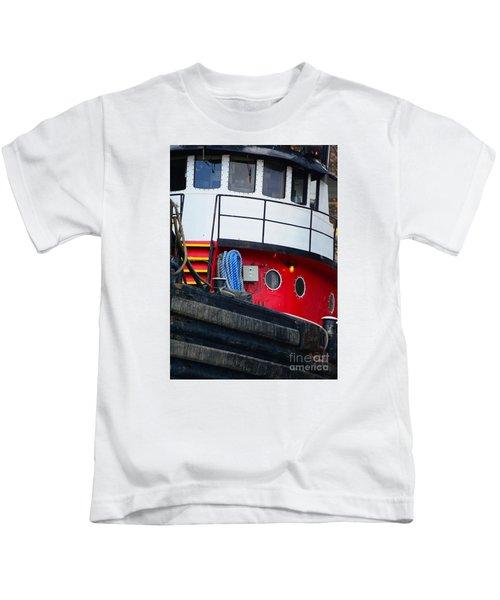 Great Lakes Tugboat Kids T-Shirt