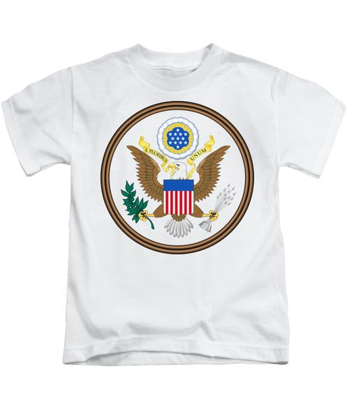 Great Seal Of The United States Kids T-Shirt