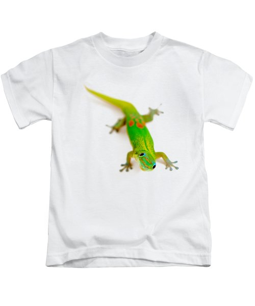 Green Gecko Kids T-Shirt
