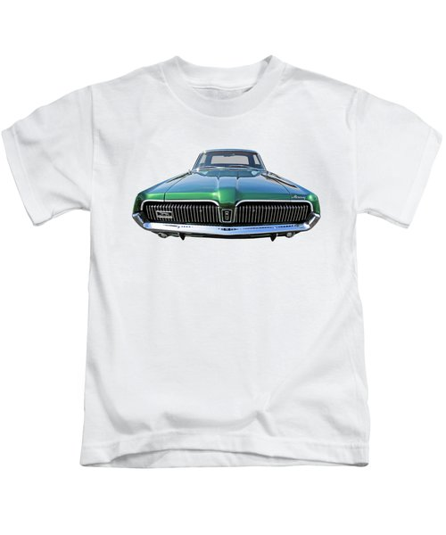 Green With Envy - 68 Mercury Kids T-Shirt