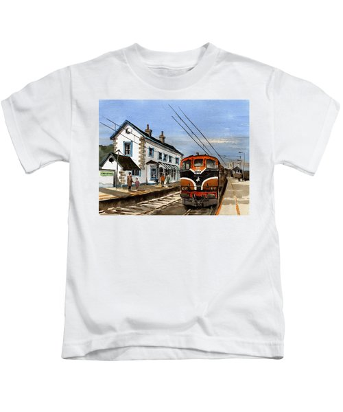 Greystones Railway Station Wicklow Kids T-Shirt