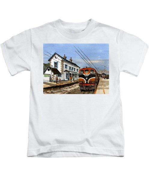 Greystones Railway Station Wicklow Kids T-Shirt