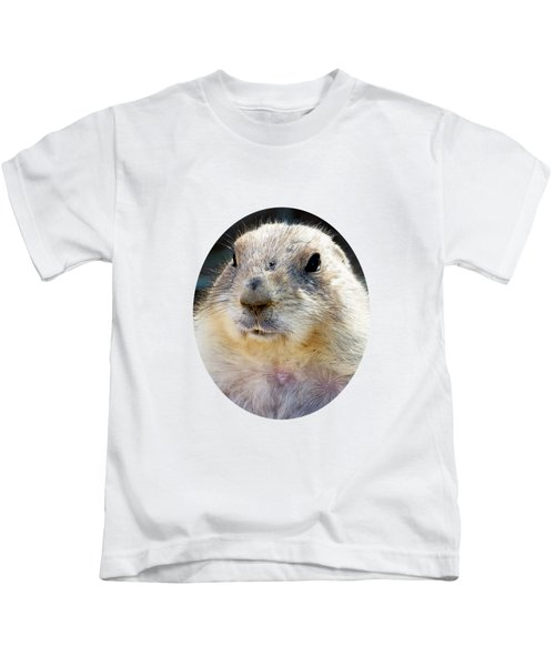 Ground Squirrel Portrait Kids T-Shirt