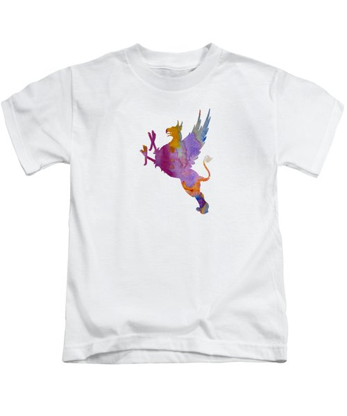 Gryphon Kids T-Shirt by Mordax Furittus