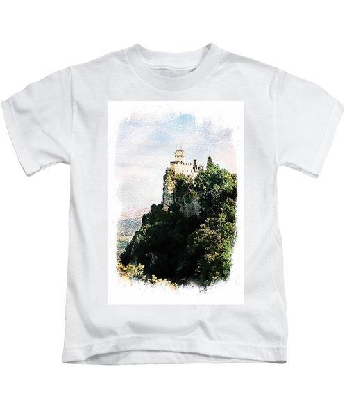 Guaita Castle Fortress Kids T-Shirt