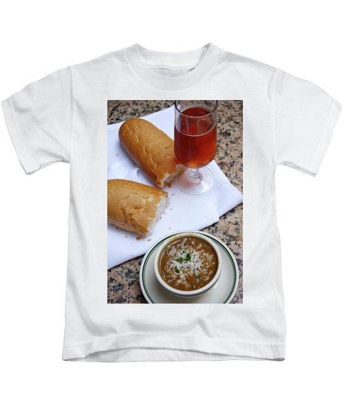 Gumbo Lunch Kids T-Shirt