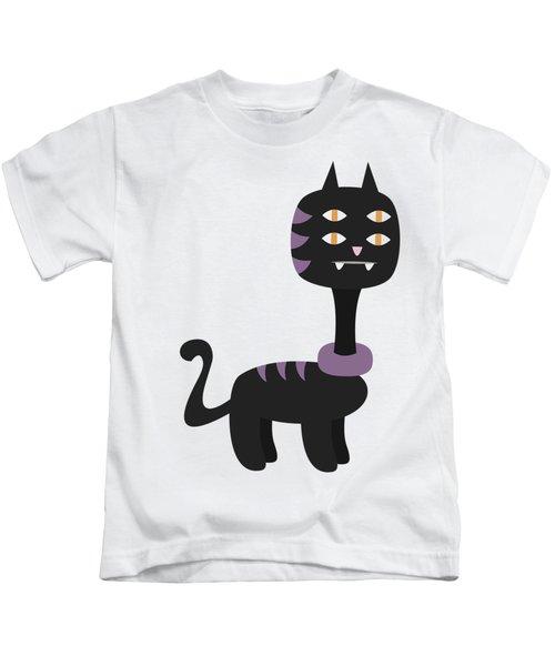 Halloween Cartoon 07 Kids T-Shirt