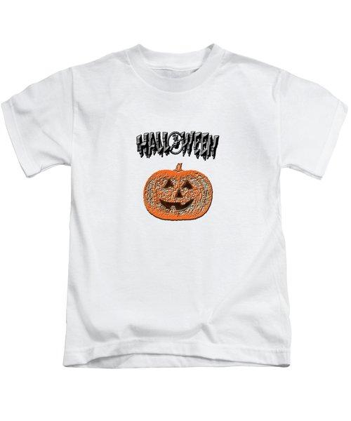 Halloween Pumpkin Kids T-Shirt