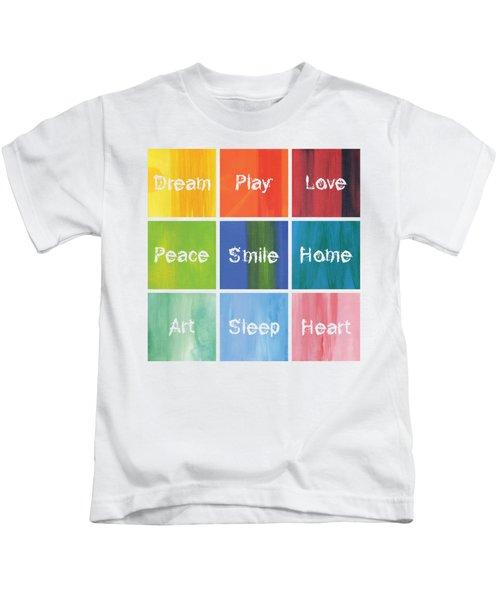 Happy 9 In 1 Kids T-Shirt