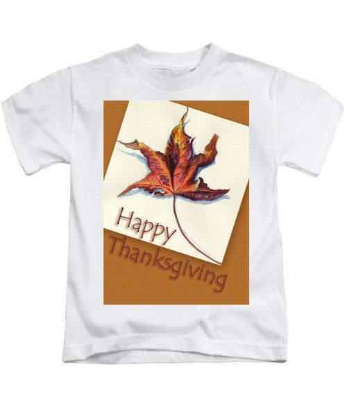 Happy Thansgiving Kids T-Shirt