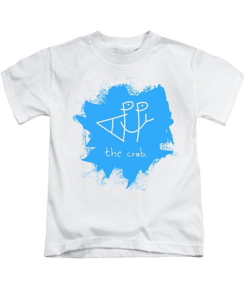 Happy The Crab - Blue Kids T-Shirt