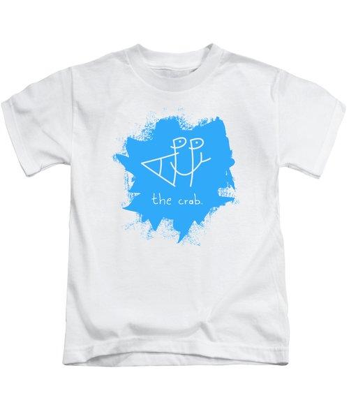 Happy The Crab - Blue Kids T-Shirt