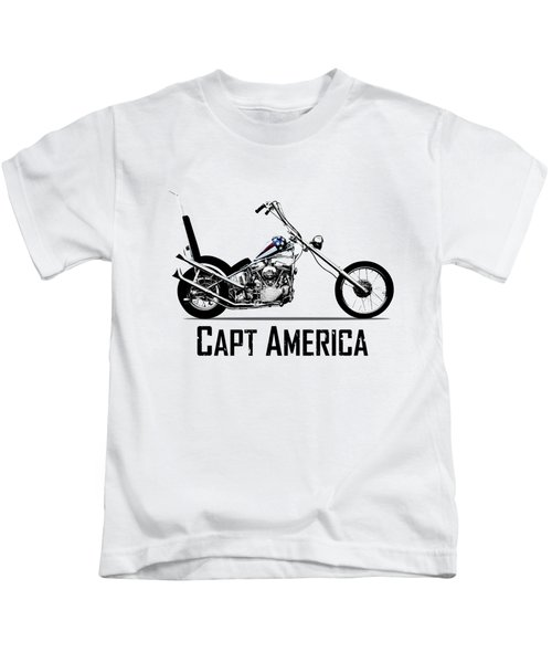 Harley Captain America Kids T-Shirt