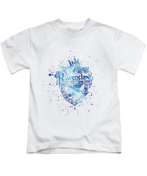 Harry Potter Ravenclaw House Silhouette Kids T-Shirt