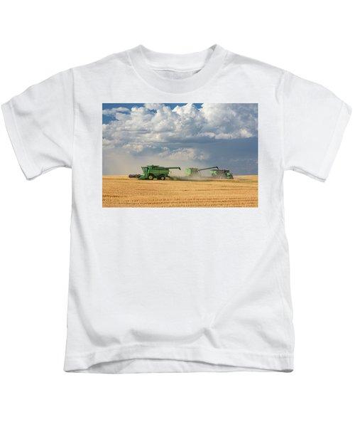 Harvest Clouds Kids T-Shirt