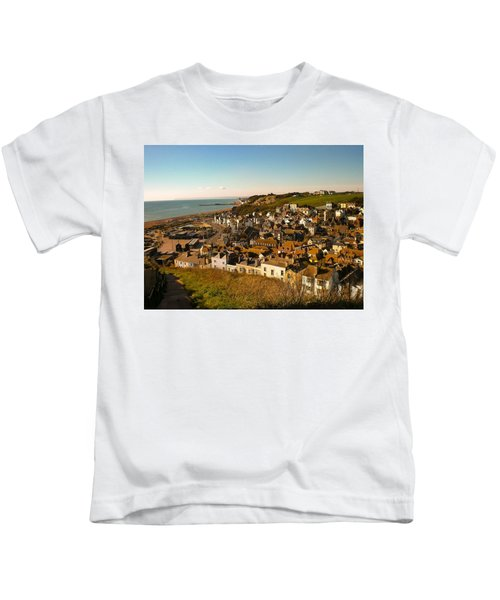 Hastings, Sussex, England Kids T-Shirt