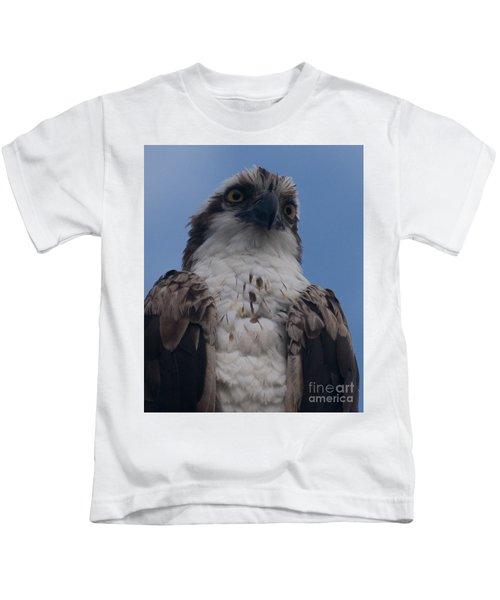Hawk Stare Kids T-Shirt