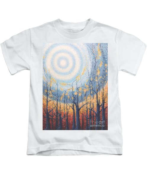 He Lights The Way In The Darkness Kids T-Shirt