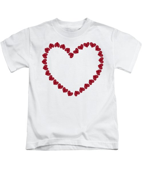 Heart From Red Hearts Kids T-Shirt