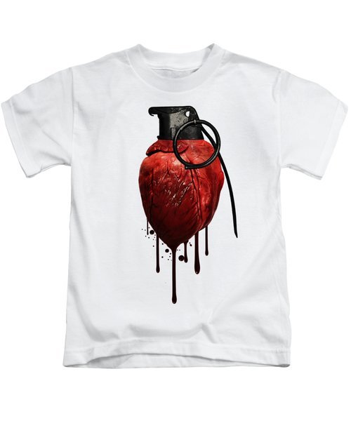 Heart Grenade Kids T-Shirt
